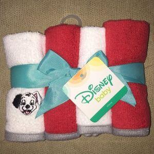 Disney Dalmatians Baby Wash Cloths